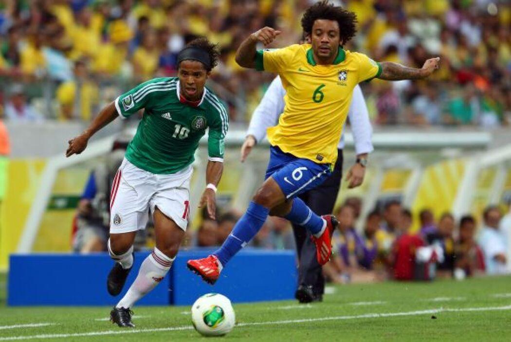 El Tricolor trató de hacer un buen papel ante el local pero no pudo con...