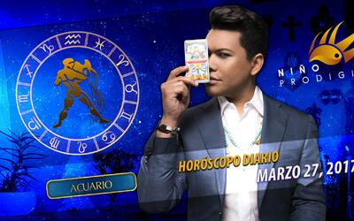 Niño Prodigio - Acuario 27 de marzo, 2017