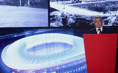 El Atlético de Madrid firmó con una empresa China y el estadio se llamar...