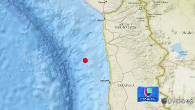Estado de catástofre en el norte de Chile por terremoto