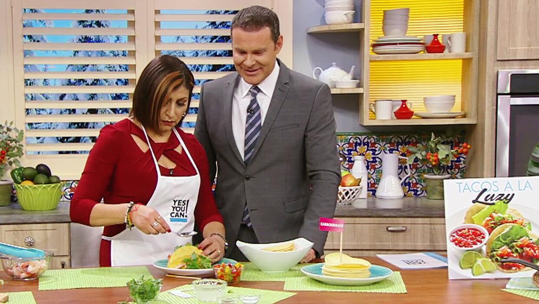 Tras bajar 60 libras, Luzy nos compartió su receta de tacos que la hace...