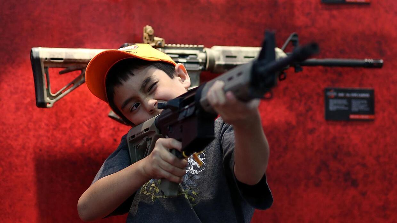 Revisión al control de armas cada vez más popular en la población estado...