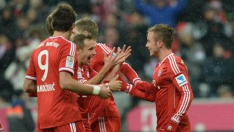 Bayern ya aseguró la punta de mitad de temporada en la Bundesliga.