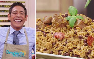 El sabor caribeño que tanto le encanta a Johnny: Congri con Masas de Cerdo