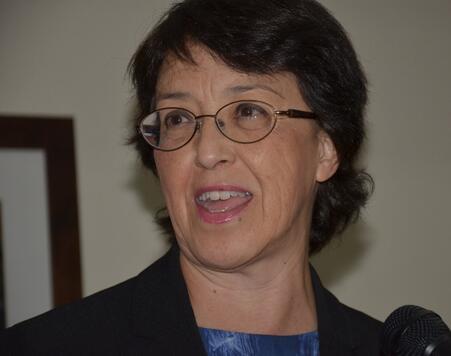 Gloria La Riva, aspirante socialista a presidir Estados Unidos