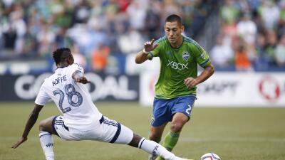 Dempsey y Koffie en el partido del sábado pasado.