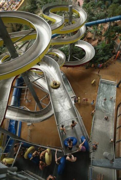 Tropical Islands abrió sus puertas al público en 2004 y ofrece a los vis...