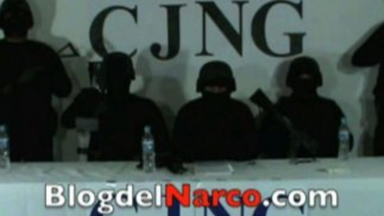 """Difundido por """"El Blog del Narco"""", un video muestra un comunicado del Cá..."""