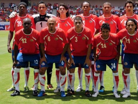 La Selección de Costa Rica enfrenta su serie contra México...