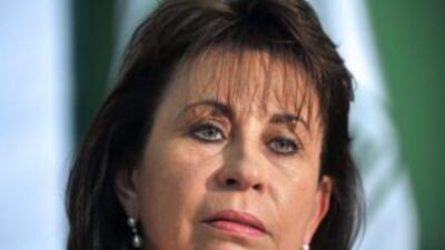 La ex esposa del presidente Alvaro Colom, Sandra Torres.