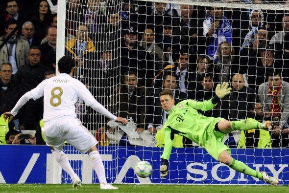 Luego Kaká y Sergio Ramos no convirtieron y el Madrid perdió en su casa.