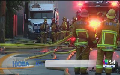 Familias de Maywood aún no pueden regresar a sus hogares tras incendio