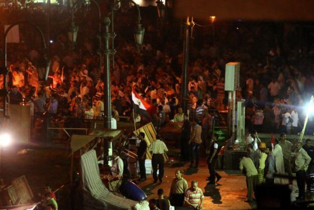 Mursi fue depuesto por el Ejército el pasado 3 de julio, tras las multit...