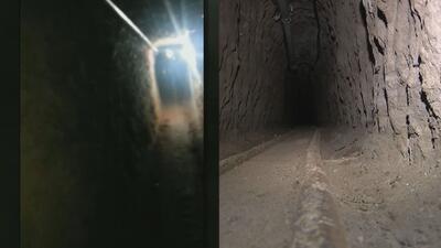 """El túnel que sirvió como """"modelo"""" para el de El Chapo"""