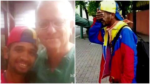 Regalan violín nuevo al joven músico a quien la Guardia Venezolana le ha...