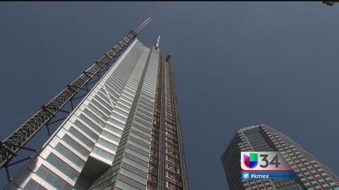 Wilshire Grand se convierte en la torre más alta del oeste de EEUU