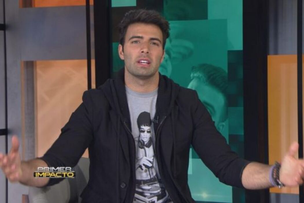 "Jencarlos  nos invitó en exclusiva a la filmación de su video ""Irreparab..."