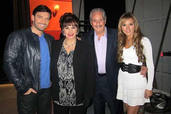 Los actores de la telenovela 'Eva Luna' visitan al Don para hablar de la...