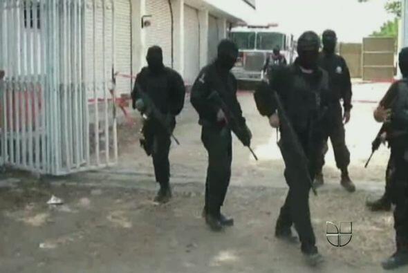 24 de febrero. Autoridades de Monterrey registraron narcobloqueos y la c...