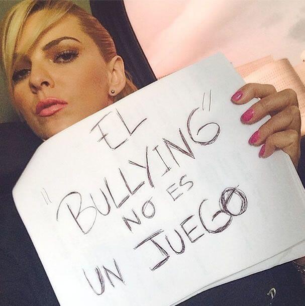 La actriz y modelo venezolana Marjorie de Sousa. Foto tomada de Twitter.