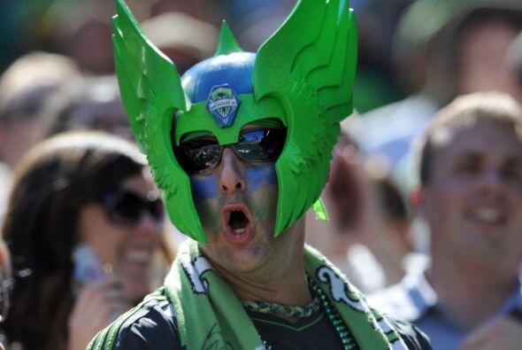 Hablando de enmascarados, en Seattle también el Sounders tiene su...