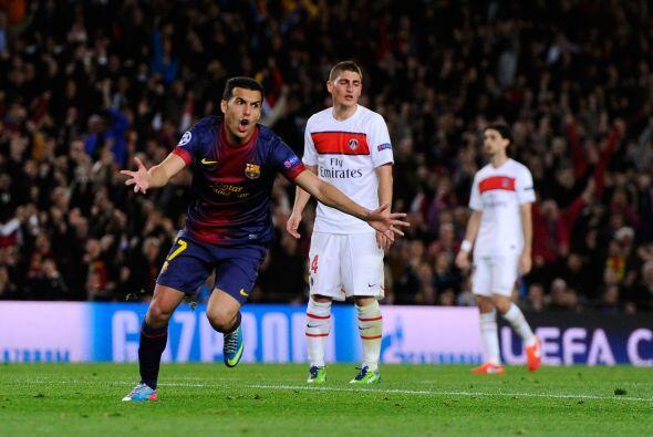 Cuando se jugaba el minuto 71, los barcelonistas encontraban el gol ansi...
