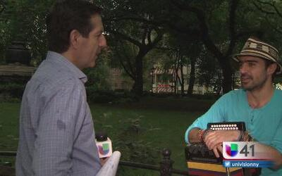 Gregorio Uribe, un joven talento de la cumbia