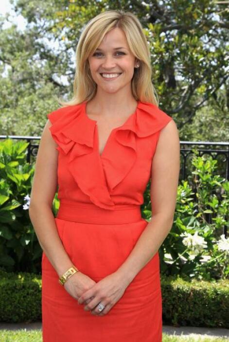 La actriz estadounidense Reese Witherspoon es una de las consentidas de...