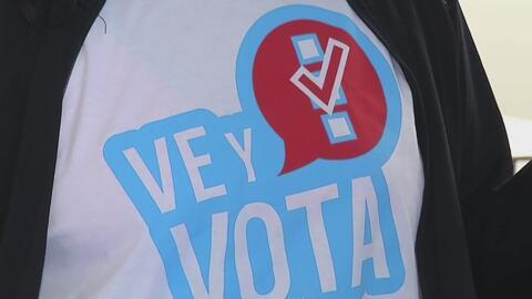 Unos 100 mil latinos votaron en las elecciones anticipadas de Nevada