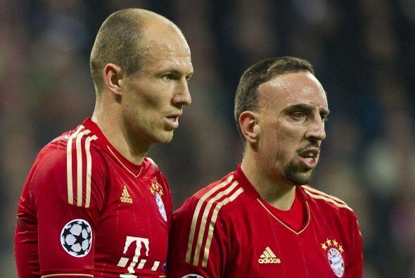 A pesar de que Robben recientemente renovó contrato con los b&aac...