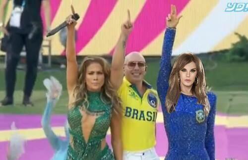 Lucía Méndez, la orgullosa única latina en ser invitada al Mundial. Todo...