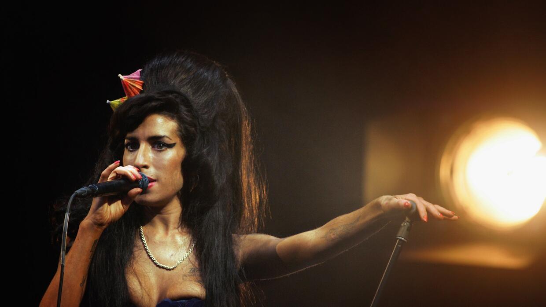 Amy Winehouse in Glastonbury Festival 2008 Day 2