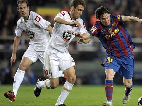 Barcelona recibió al Deportivo La Coruña con la confianza...