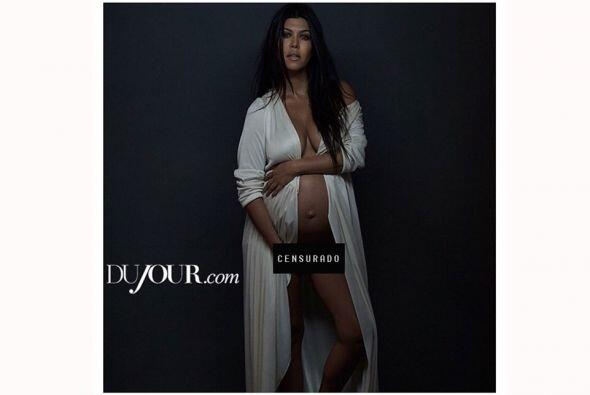 Ya sabemos que a las Kardashian les encanta posar desnudas, pero hacerlo...