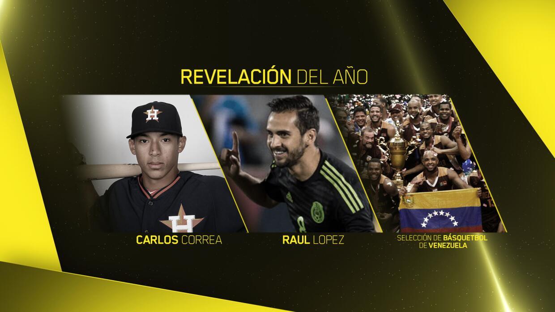 Revelación del Año - Premios Univision Deportes 2015
