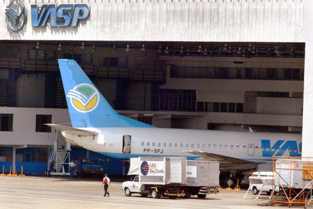 42- VASP, la aerolínea de Sao Paulo, Brasil, también ha sufrido 457 fall...