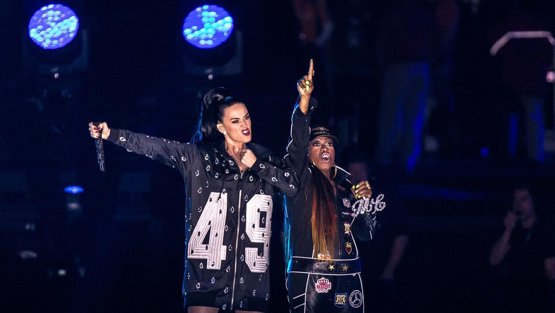 Missy Elliott  reapareció en el Super Bowl al lado de Katty Perry