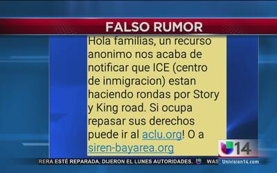 ICE desmiente rumores de redadas en San José