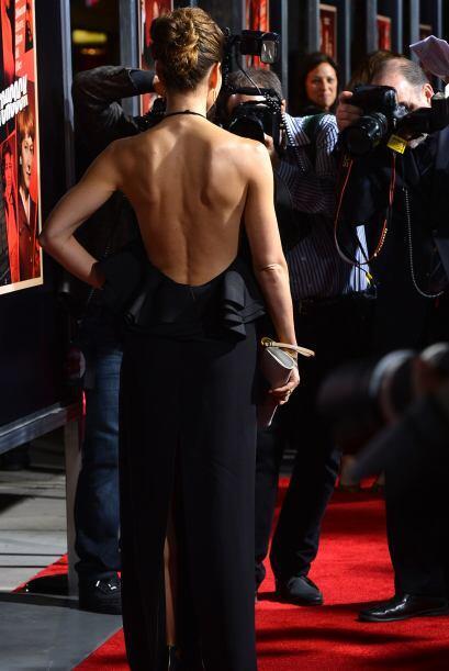 Mira nada más cómo luce su espalda.  Aquí los video...