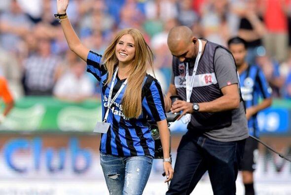 .Axelle Despiegelaere, aficionada belga, se dio conocer durante la Copa...