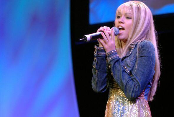 """Miley, como recordarás, comenzó con el programa """"Hann..."""