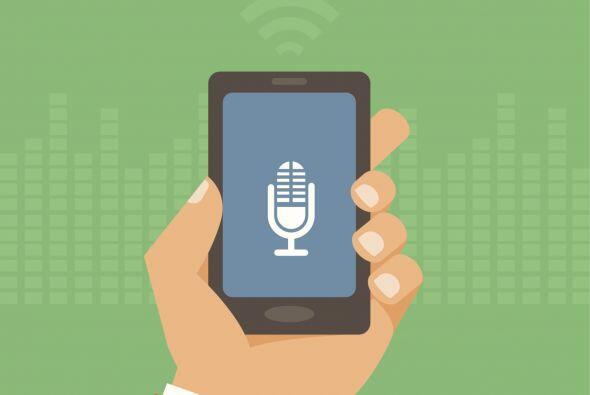 Dragon Dictation - De tu voz al texto. Usa tu voz para dictar un mensaje...