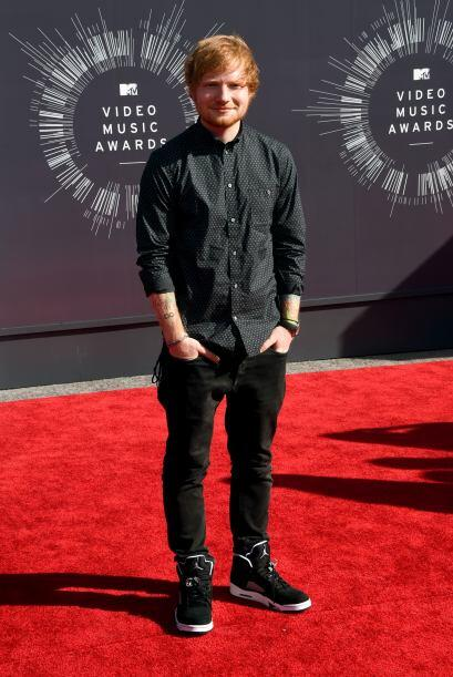 De los más juveniles fueron Ed Sheeran, aunque creemos que debió de echa...
