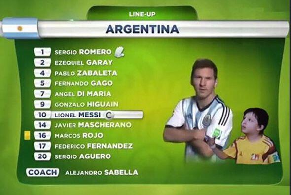 Y así salió Messi. Todo sobre el Mundial de Brasil 2014.