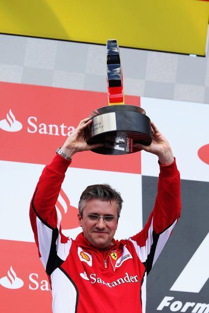 El premio de los fabricantes se lo llevó Ferrari.