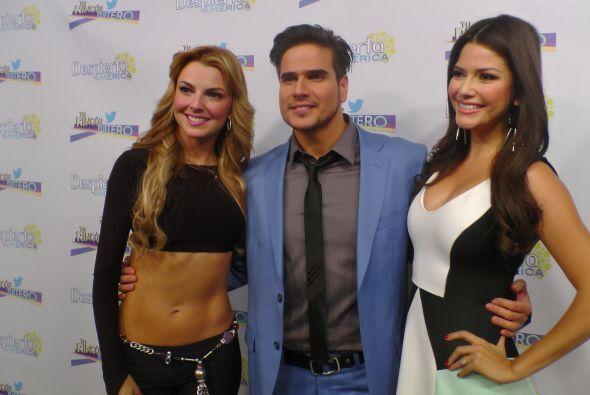 Pero además, Marjorie de Sousa y Daniel Arenas estuvieron de visita en e...