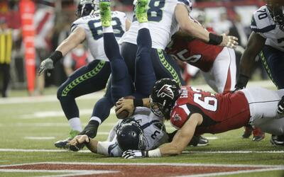 El pisotón inoportuno que le costó un safety a los Seahawks