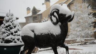 Una fuerte tormenta invernal azotó una amplia franja de Estados Unidos,...
