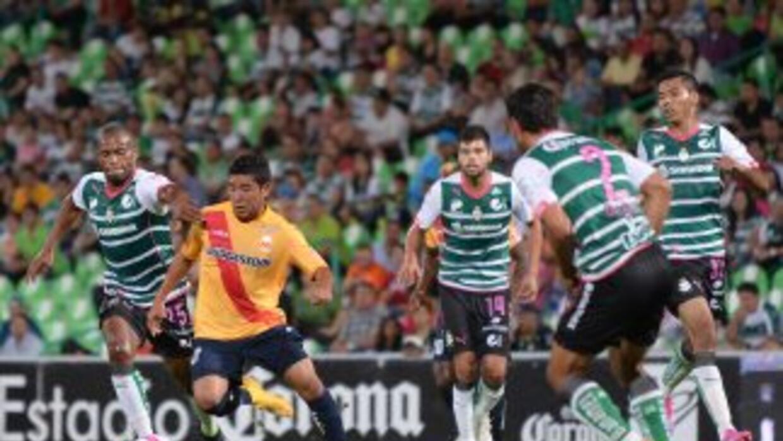 Morelia rescató el empate a 2 ante Santos