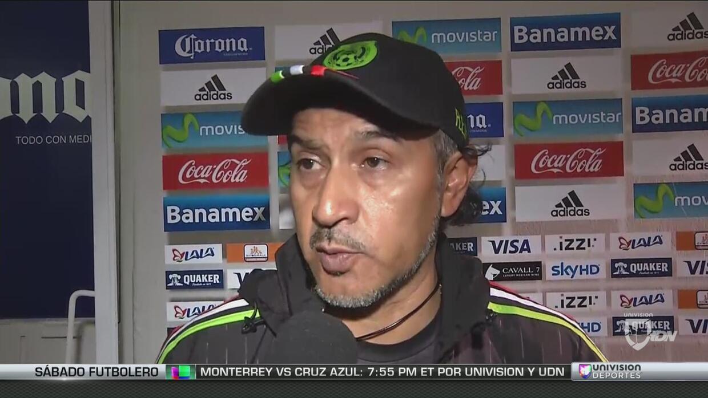 """Raúl Gutiérrez: """"Ante Argentina fue un partido típico de la alta compete..."""